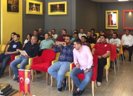 Gaziantep Galatasaray Taraftarlar Derneği'nin 2. Olağan Genel Kurulu Yapıldı