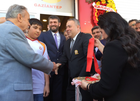 Gaziantep Galatasaray Taraftarlar Derneği Yeni Yerinde